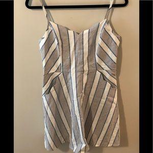 Market & Spruce Crissie Linen Blend Dress- NWOT